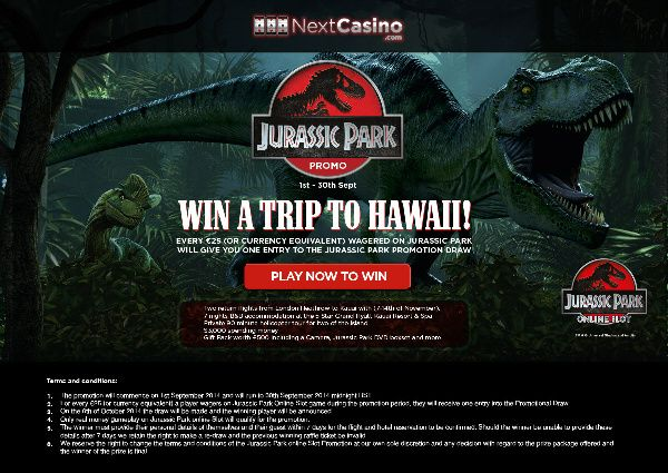 http://bit.ly/nextcasino_promo_page ♥ This amazing prize includes:  Flights from London B&B for 7 nights at a 5 star resort on the island of Kauai $3000 in spending money a private helicopter tour of the island (90 minutes) a gift pack worth £500 JOIN NOW...