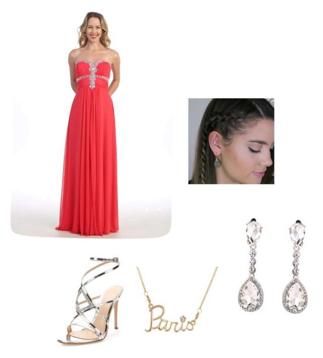"""""""DADDY DAUGHTER DANCE!!!💃🏼"""" by ilovehorses5 ❤ liked on Polyvore featuring Gianvito Rossi and Les Néréides"""