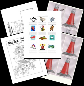 The Little Red Lighthouse and the Great Gray Bridge lapbook download