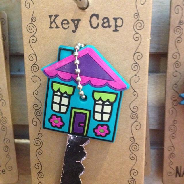 Cute key cap for new house keys! | Housewarming Gift Ideas ...