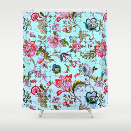 ancient floral Shower Curtain#15% off and free shipping on everything!04/17