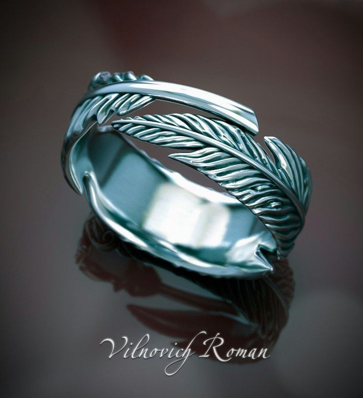ring feather 3d model stl 1