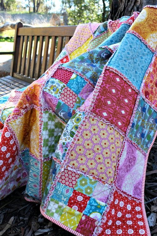 Bloom: A flannel quilt for me