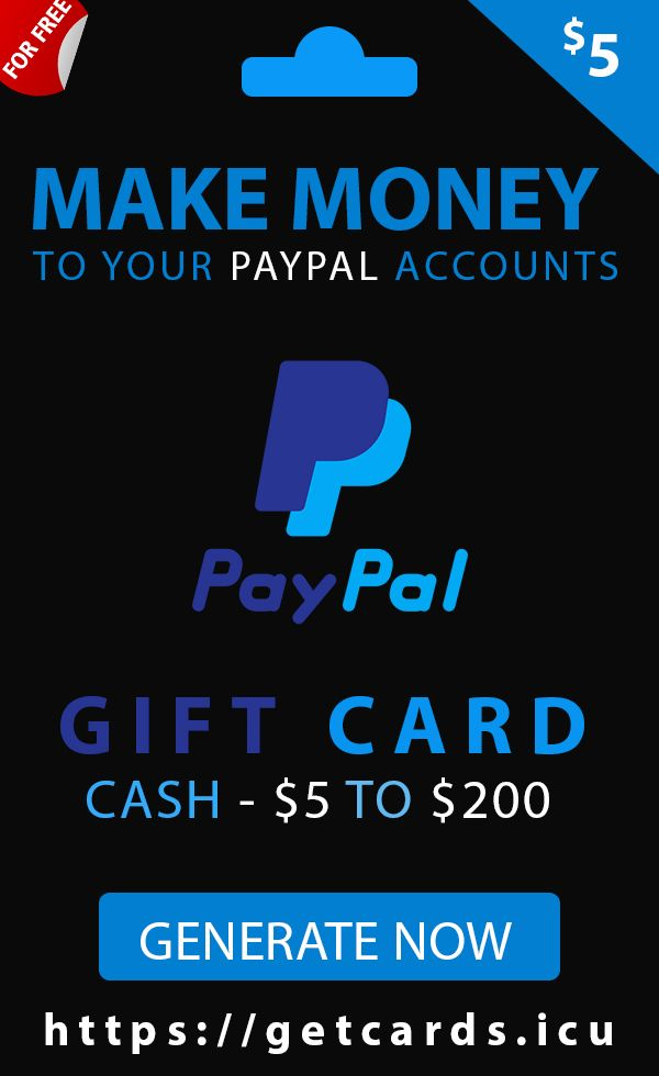 Free Paypal Gift Cards In 2021 Paypal Gift Card Gift Card Generator Sephora Gift Card
