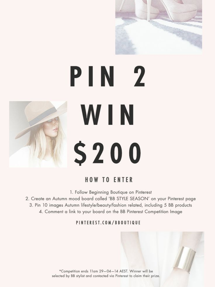 Comment the link to your Pinterest board called 'BB STYLE SEASON' to enter below!