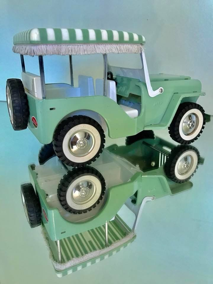 1960 Tonka Surrey Jeep My True Addiction Tonka Toys Vintage