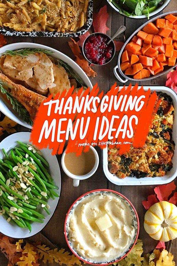 Thanksgiving Menu Ideas Thanksgiving Menu Thanksgiving Brunch