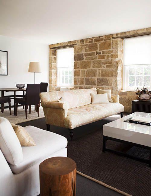 BALMAIN WHARF APARTMENTS | alwill  #interiors #livingroom #diningroom #sandstone #neutral