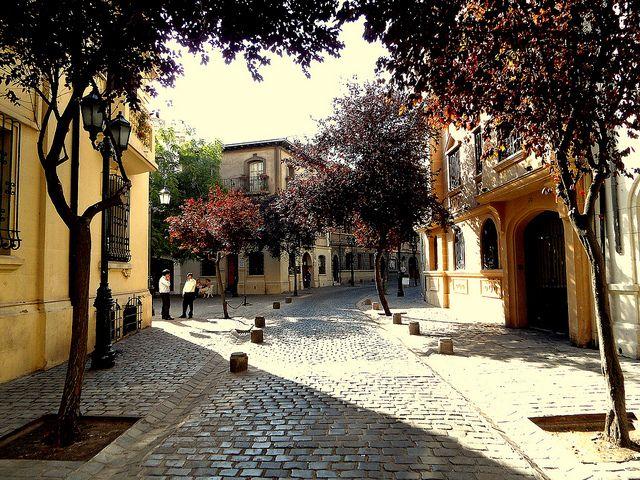 calles Paris y Londres Streets, santiago, CHILE