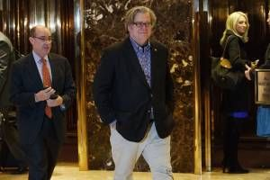 Three lessons we learned about Steve Bannon from this weekend's New York Times and Boston Globe profiles