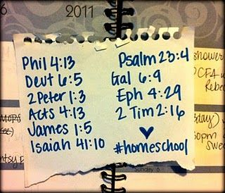 Homeschool prayers