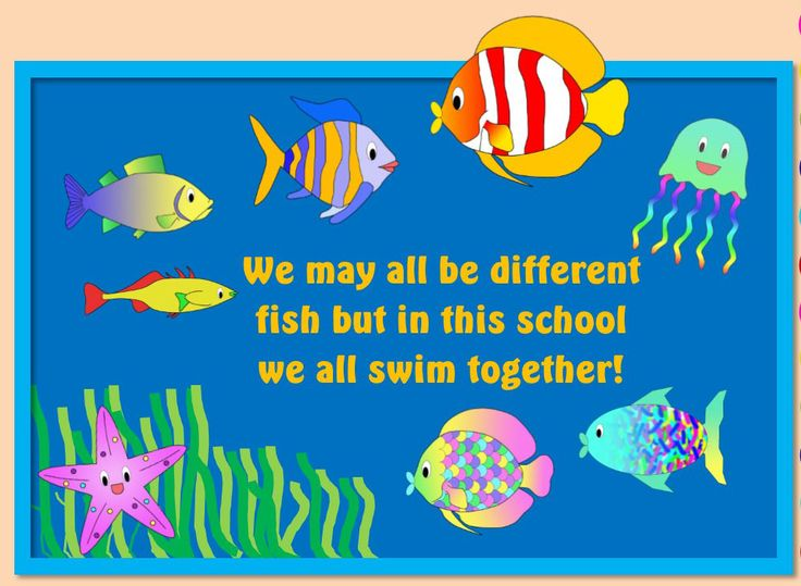 Harmony Day Fish Package for cultural diversity and tolerance by KR Learning
