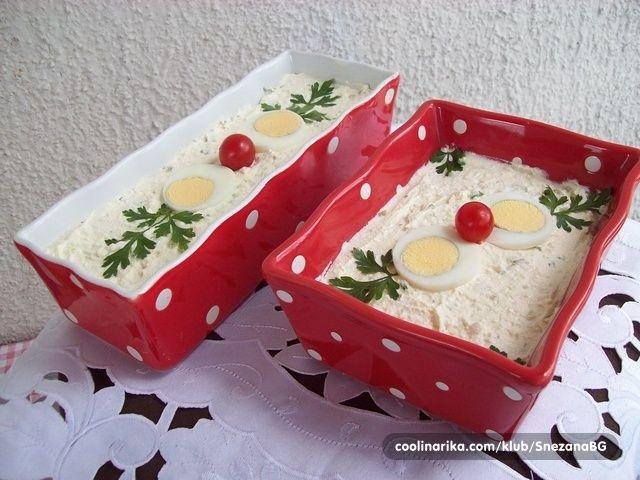 Salata koju su moji sinovi probali kod druga na slavi, i o kojoj su oduševljeno pričali... Naravno, recept je odmah zatražen, a Dragani S. hvala što mi ga je poslala !