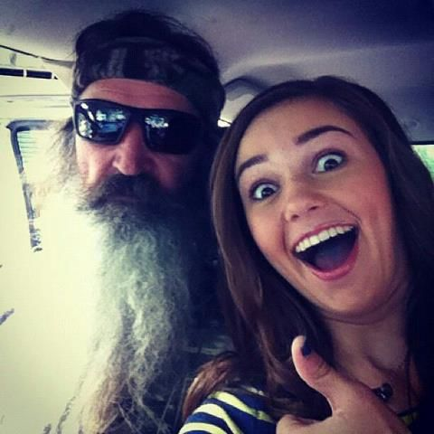 Phil and Sadie from DUCK DYNASTY WATCH EVERY WEDNESDAY ON A @ 10/9c