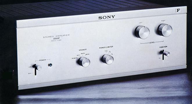 SONY TA-3200F (1972)
