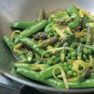 Try the Spring Vegetable Stir-Fry Recipe on williams-sonoma.com (high ratings)