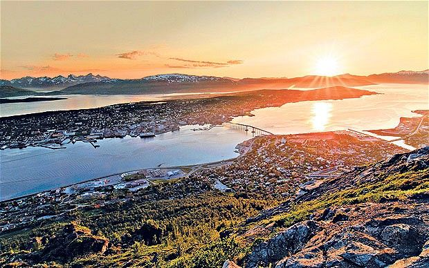 The Midnight Sun Half Marathon in Tromso, Norway.  If you're a runner and want to combine foreign travel with an event this is a good one.