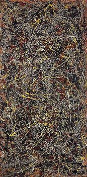 No. 5, 1948 is a painting by Jackson Pollock, an American painter known for his contributions to the abstract expressionist movement