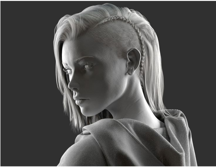 3d hair cards female Google Search Zbrush, Female