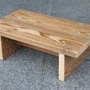 This is a very simple step stool that can be used for a child (or an adult as well as it is very strong). I made this step stool from ...