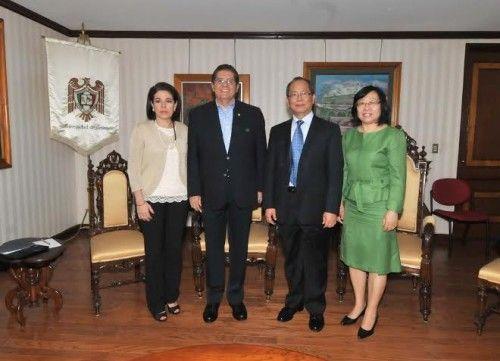 Interesa a embajada de China fortalecer lazos de cooperación con la Universidad de Colima