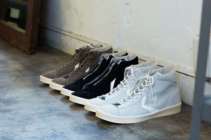 nonnative Puts Its Own Spin on the Converse Pro Leather http://SneakersCartel.com #sneakers #shoes #kicks #jordan #lebron #nba #nike #adidas #reebok #airjordan #sneakerhead #fashion #sneakerscartel