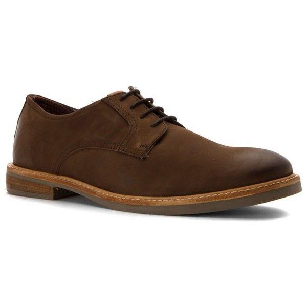 Ben Sherman Men's Birk Plain Toe Oxfords Shoes (405056901) ($63) ❤ liked on Polyvore featuring men's fashion, men's shoes, men's dress shoes, brown, shoes, ben sherman mens shoes, mens lace up dress shoes, mens shoes, mens derby shoes and mens brown oxford shoes