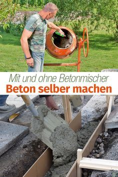 Beton selber machen