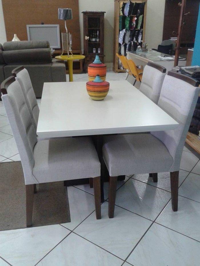 Moveis De Sala De Jantar Em Uba Mg ~  Pinterest  Tabela copa, Espelho de mesa e Espelhos de sala de jantar