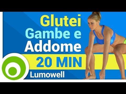 Glutei, Gambe e Addominali - YouTube