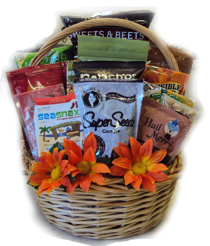 Healthy Birthday Gift Basket For Her : Best images about healthy gift basket for birthdays on