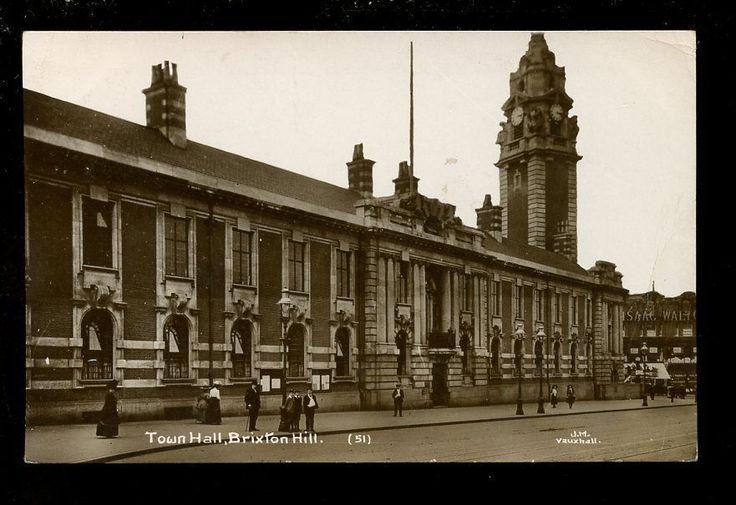LONDON Brixton Hill Town Hall 1913