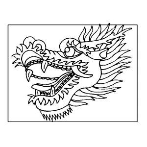 Afbeeldingsresultaat voor drakenkop tekenen