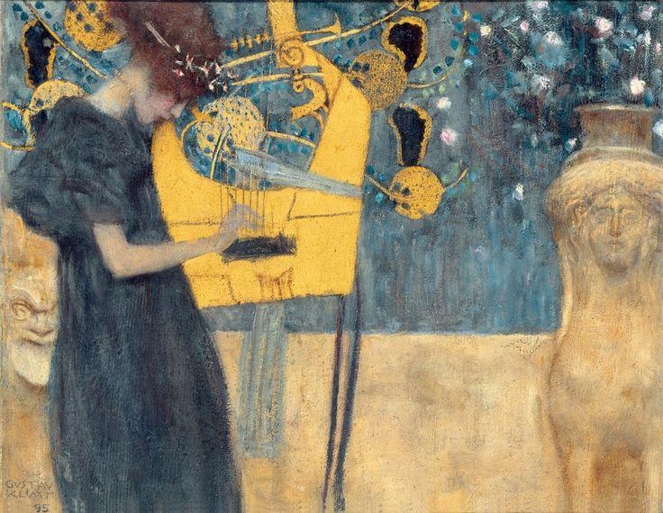 Gustav Klimt, Music (study), 1895