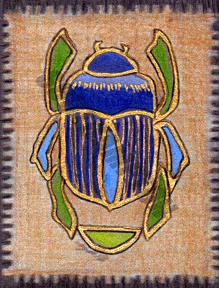 Digital Download Egyptian Scarab by SouthamptonCreations on Etsy