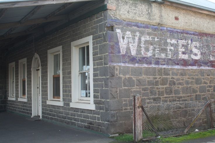 A shop from yesteryear in Kyneton, a small country town in Victoria Australia.