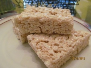 Rice Crispy Treats with Reliv Now for Kids. So tasty!