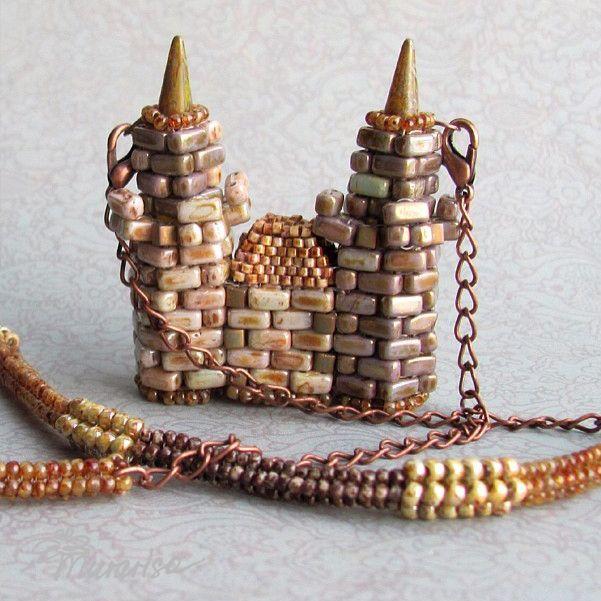 Строим свой собственный замок | biser.info - всё о бисере и бисерном творчестве