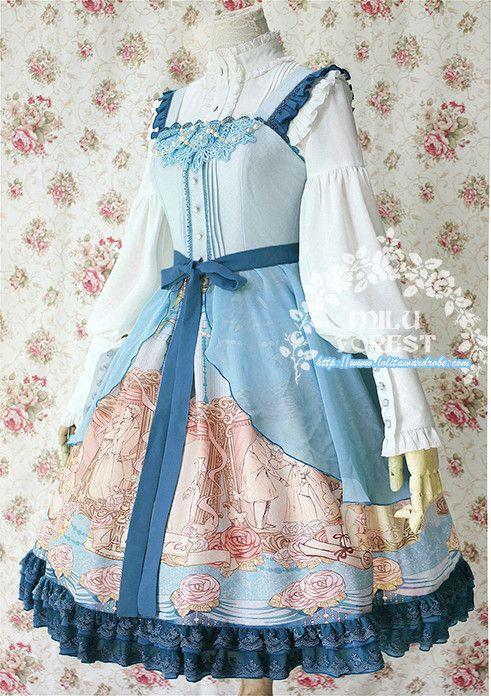 Milu Forest -Pride and Prejudice- Lolita Jumper Dress