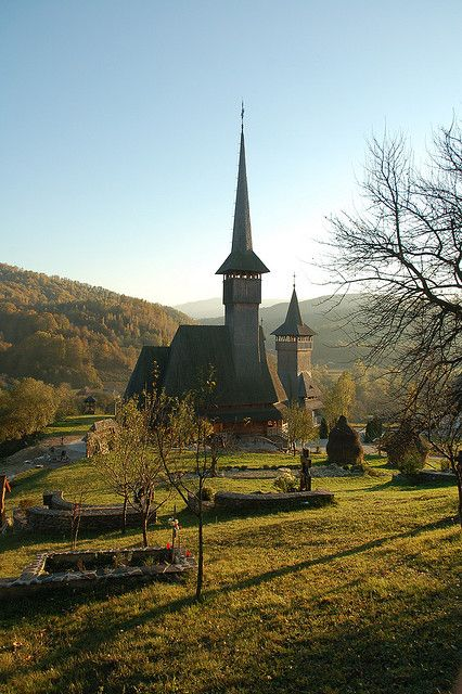 Wooden church, Maramures, Romania.  Photo: iancowe, via Flickr