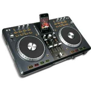 Numark iDJ3 Complete Digital DJ System you can dock your iPod or iPhone to play tracks or record your mix.