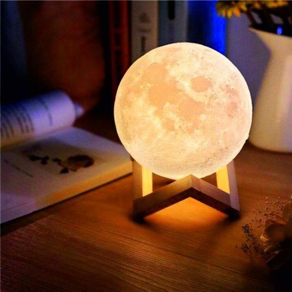 Mond Lampe Nachtlicht Kinderzimmer Nachtleuchte Mond Lampe