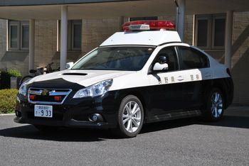 諏訪のブーちゃんのつれづれ記 Ⅱ:長野県警察 レガシィ パトカー