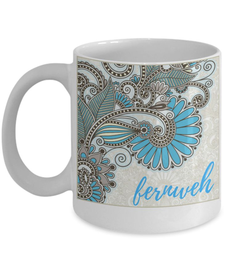 """Fernweh Novelty Coffee Mug for travel lovers,  """"Farsickness"""" or strong yearning to see distant places.  #gifts #travel #wanderlust #fernweh #noveltymug"""