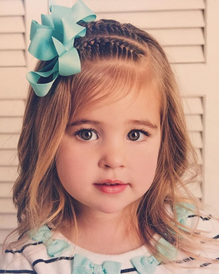 50 Cute Little Girl Hairstyles — Easy Hairdos For Your Little Princess Check more at http://hairstylezz.com/best-cute-little-girl-hairstyles/ #easyhairstylesforlittlegirls
