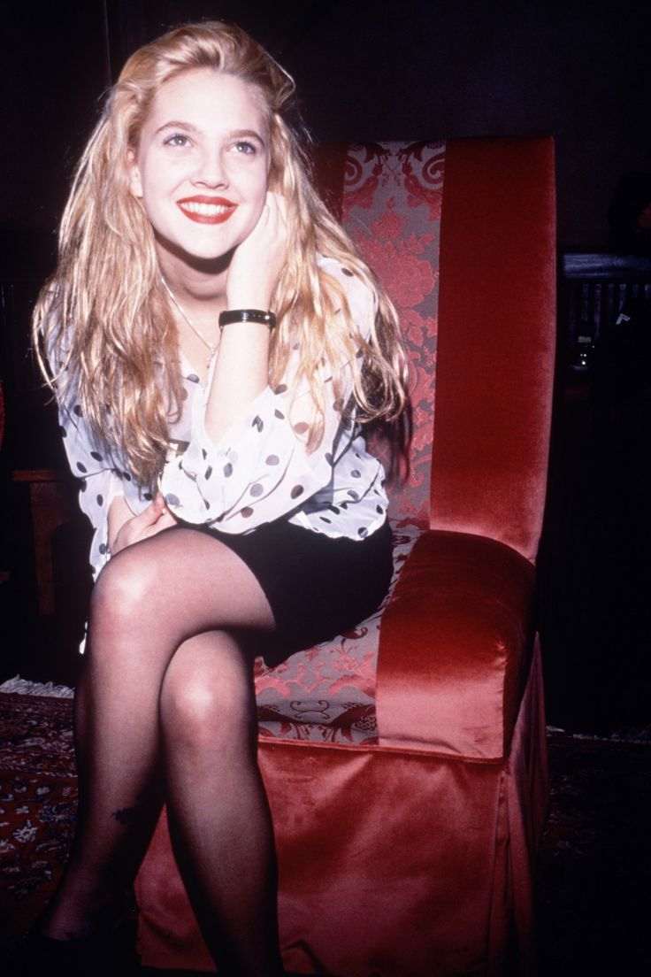 Drew Barrymore, 1990                                                                                                                                                                                 More