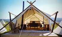 Glamping and Luxury Camping in Yellowstone National Park