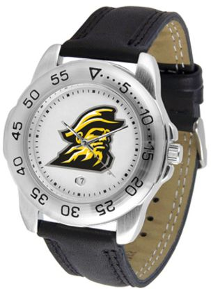Appalachian State Mountaineers Men's Sport Watch with Leather Band
