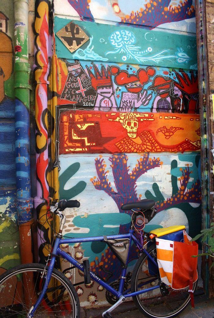 Street art in the Cours Julien neighbourhood, Marseille