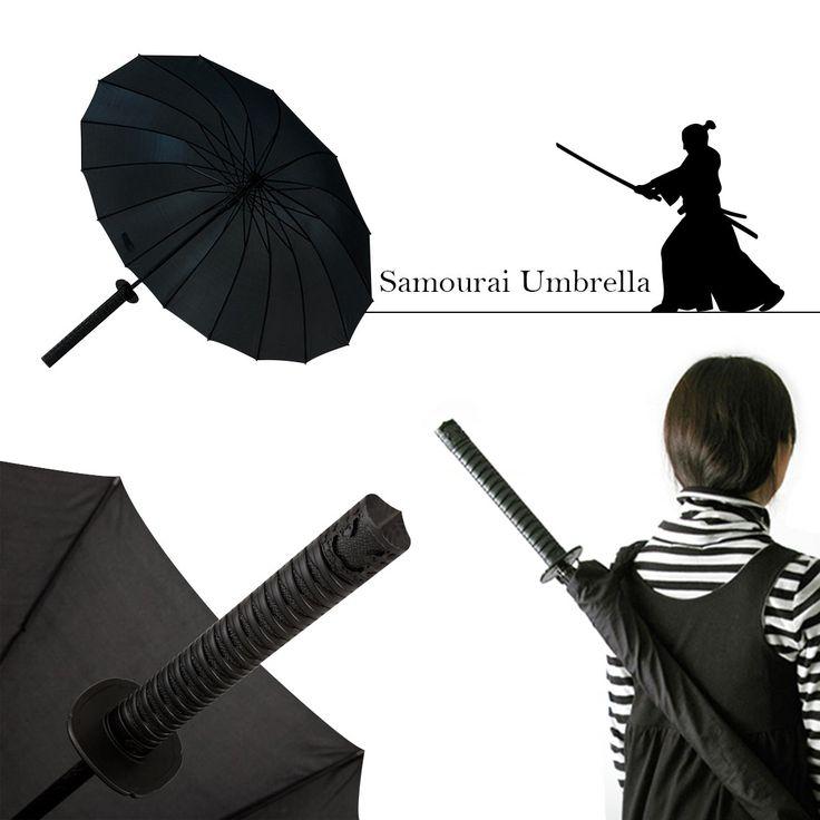 Un parapluie Samouraï pour un look original de guerrier japonais sur Logeekdesign